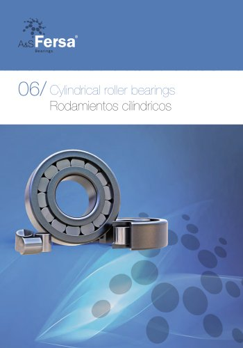Cylindrical And Thrust Ball Bearings