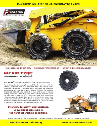 Nu-Air DT (Dirt Terrain) Brochure