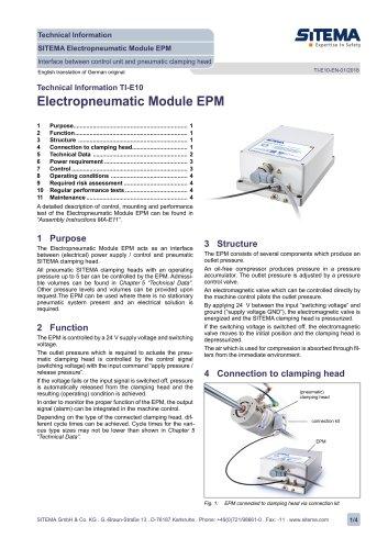 TI-E10 Electropneumatic Module EPM