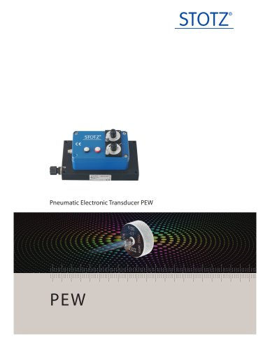 Transducers (Air-To-Electronic) - PEW