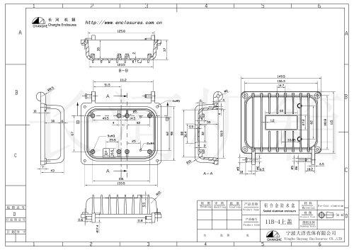 CATV enclosure 11B-4