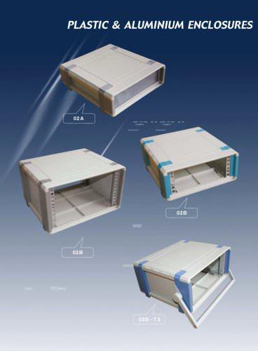 plastic & aluminium enclosures