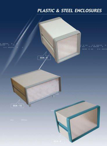 plastic & steel enclosures
