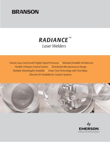 Branson Laser Welders - Radiance Series