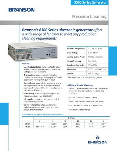 Branson's 8300 Series u