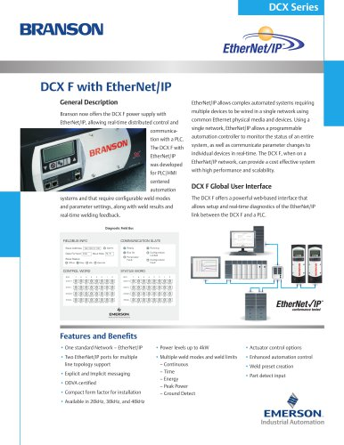 DCX F with EtherNet/IP