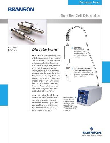 Disruptor Horn