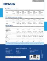 M and MH Ultrasonic Baths - 2