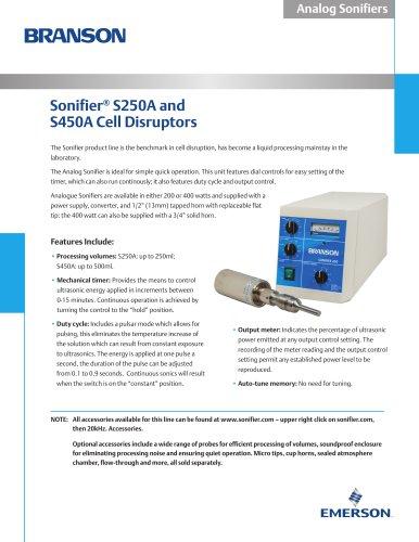 Sonifier® S250A