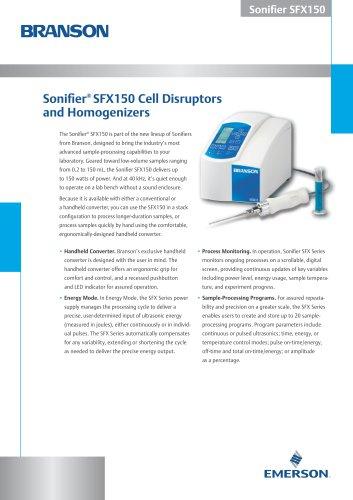 Sonifier® SFX150