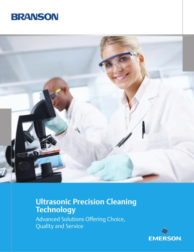 Ultrasonic Precision Cleaning Technology | Branson