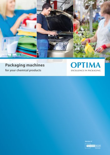 Packaging machines  for your chemical products