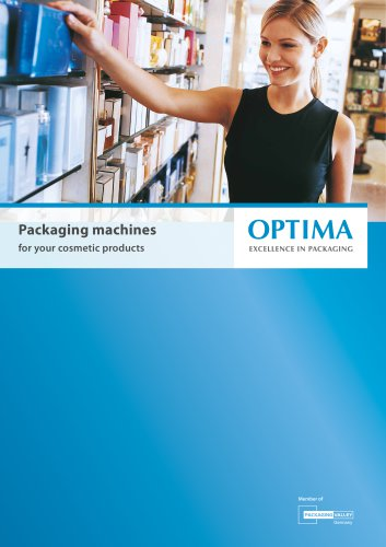 Packaging machines  for your cosmetic products