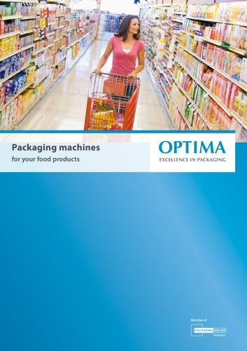 Packaging machines  for your food products