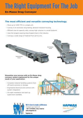 En-Masse Drag Conveyor