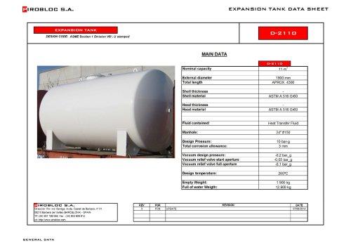 Expansion tanks