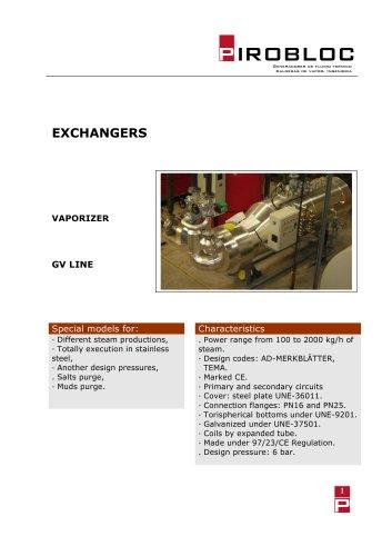 Heat exchanger GV series
