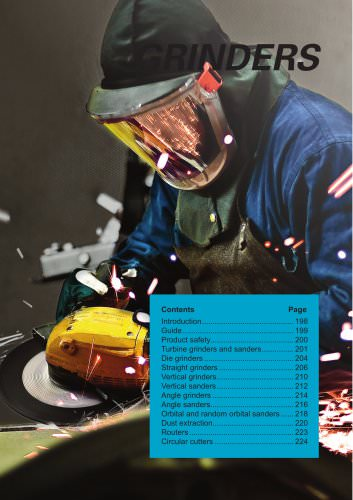 Industrial Power Tools catalogue