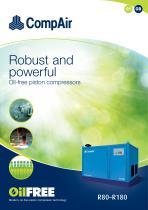 Série R - high-output piston compressors