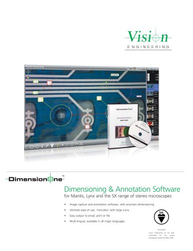 Dimensioning & Annotation Software