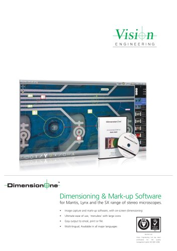 DimensionOne - Dimensioning & annotation software