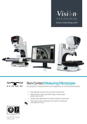 Hawk non-contact measuring microscopes