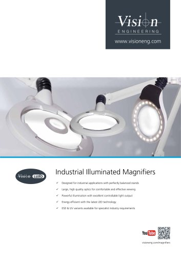 Illuminated Bench Magnifiers Brochure