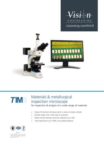 TIM5 Metallurigical and Materials Microscope