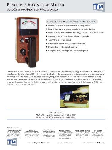 53-49 Portable Moisture Meter