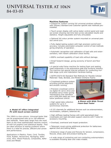 84-03 Universal Tester 10kN - AT