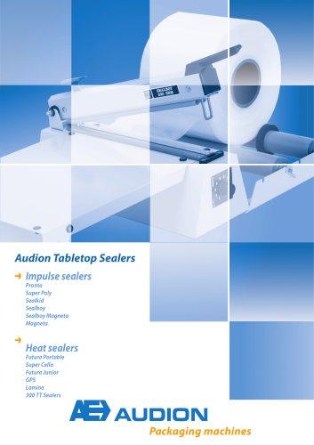 Audion Tabletop Sealers