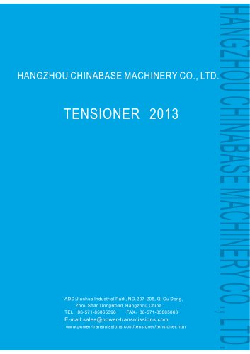 Chinabase Machinery Tensioner,chain tensioner,belt tensioner,spring chain tensioner