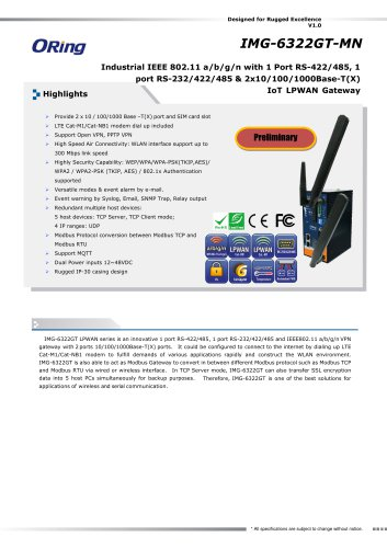 Datasheet_IMG-6322GT-MN(Preliminary)