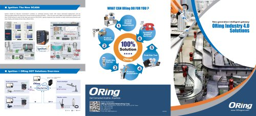 ORing Industry 4.0 Solutions