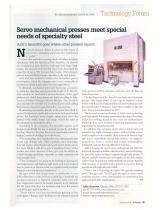 Servo Mechanical Presses