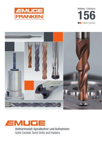 EMUGE Carbide Twist Drills and Holders