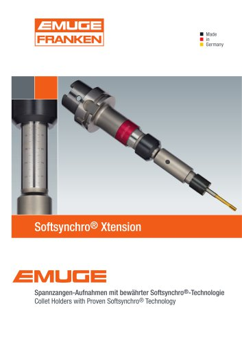EMUGE Softsynchro Xtension Collet Holder