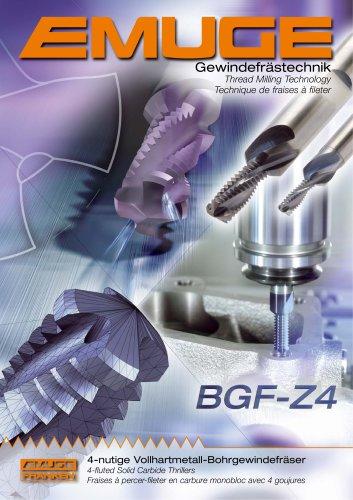 EMUGE Solid Carbide Thrillers BGF-Z4