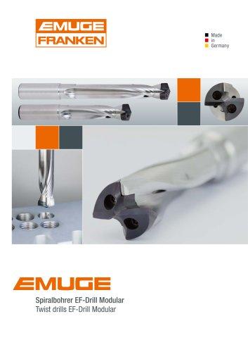 Emuge Twist drills EF-Drill Modular