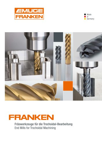 Franken End Mills for Trochoidal Machining