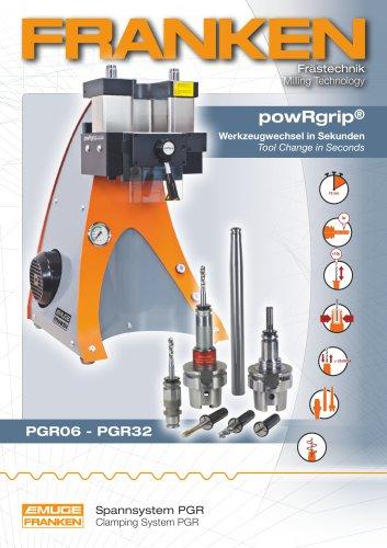 FRANKEN powRgrip® Tool clamping