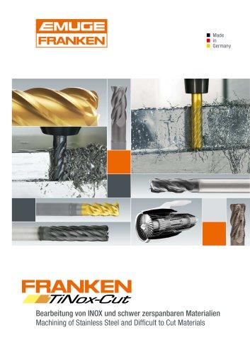 FRANKEN TiNox-Cut Milling tools