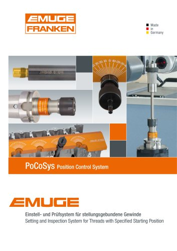 Setting and Inspection System for Threads with Specifi ed Starting Position