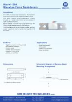 159A Miniature Single Bending Beam Force Transducers