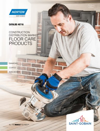 CONSTRUCTION DISTRIBUTION MARKET FLOOR CARE PRODUCTS
