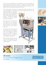 20 Series semi-automatic filling & closing machines