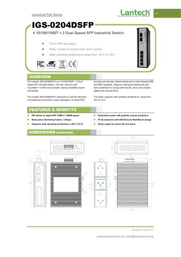 IGS-0204DSFP