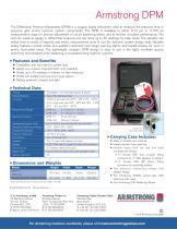 Series DPM Differential Pressure Manometer - 2