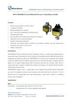 MPM/MDM4881 PressureDifferential Pressure Transmitting Controller