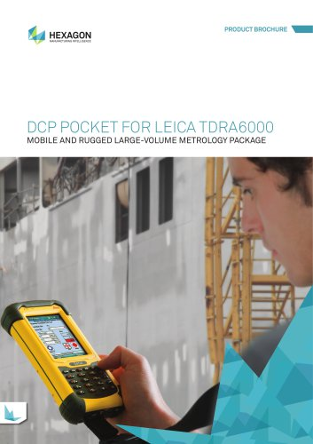 DCP Pocket for Leica TDRA6000 Brochure